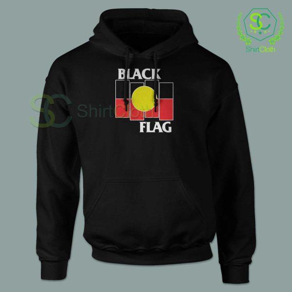 Black Flag X Aboriginal Black Hoodie