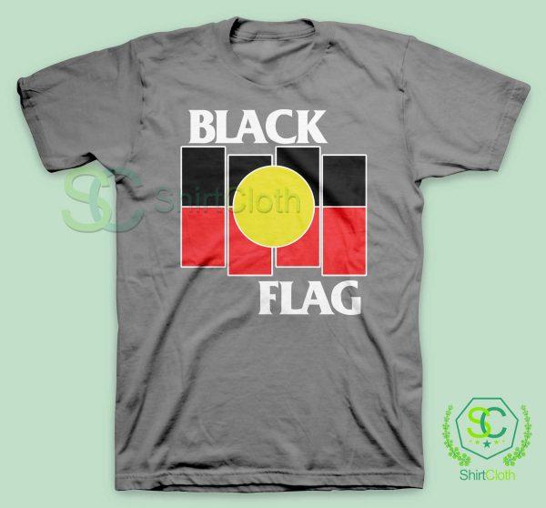 Black Flag X Aboriginal Gray T Shirt