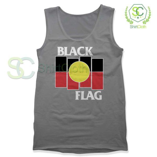 Black Flag X Aboriginal Gray Tank Top