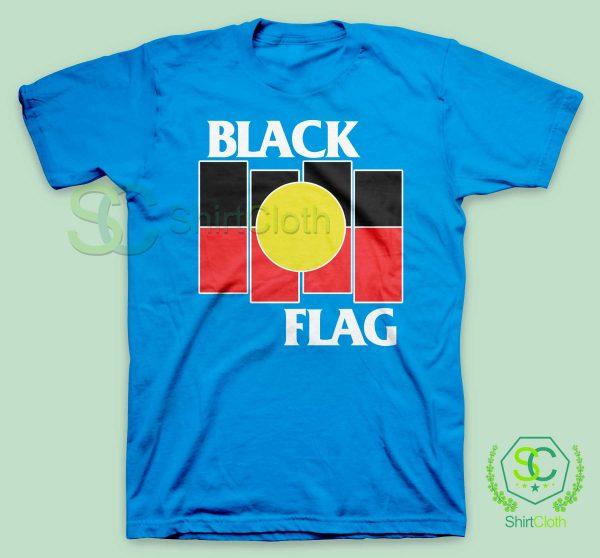 Black Flag X Aboriginal T Shirt