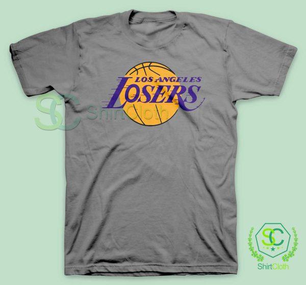 Los-Angeles-Losers-Gray-T-Shirt