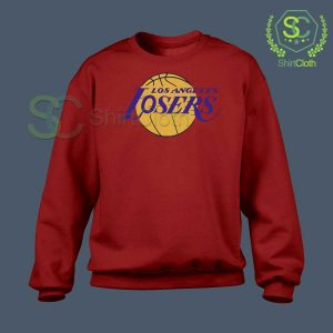 Los-Angeles-Losers-Red-Sweatshirt