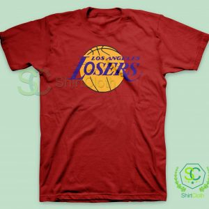 Los-Angeles-Losers-Red-T-Shirt