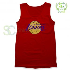 Los Angeles Losers Red Tank Top