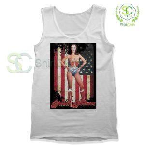 Lynda Carter Wonder Women Tank Top