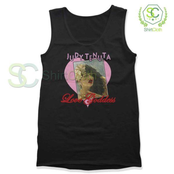 Vintage Judy Tenuta Black Tank Top