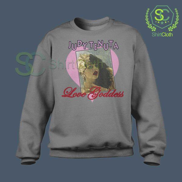 Vintage Judy Tenuta Gray Sweatshirt