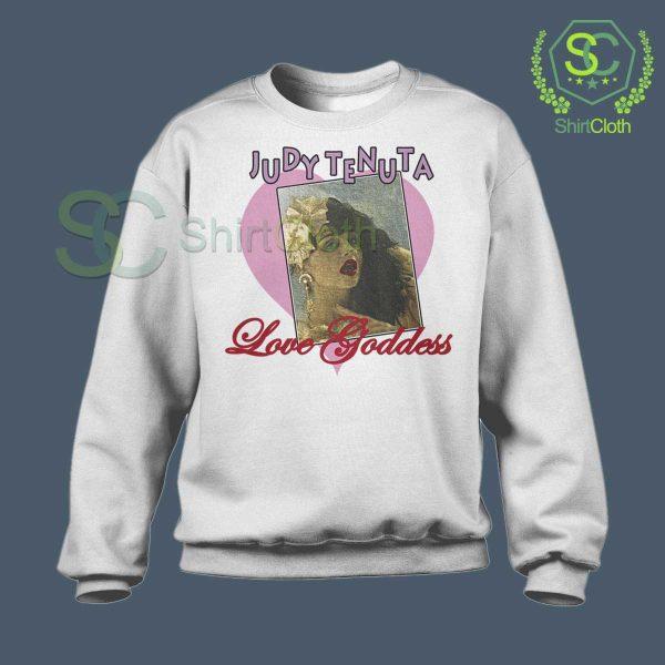 Vintage Judy Tenuta White Sweatshirt
