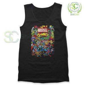 Marvel Comics Heroes Group Tank Top