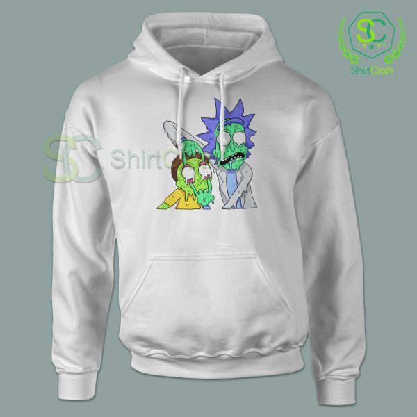 Rick and Morty Zombie Hoodie