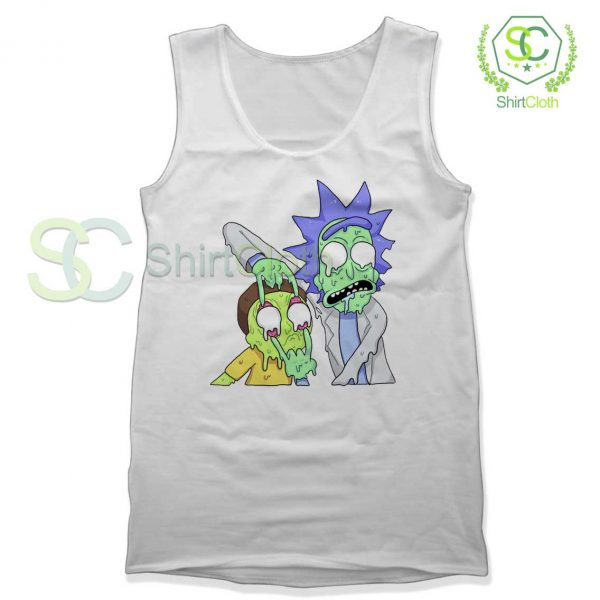 Rick and Morty Zombie Tank Top