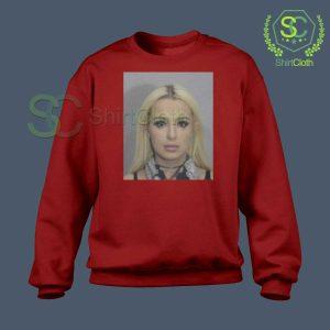 Tana Mongeau Coachella Mugshot Sweatshirt