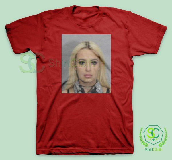 Tana Mongeau Coachella Mugshot T Shirt