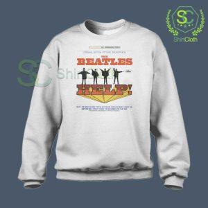 The Beatles Help Album Cover Sweatshirt