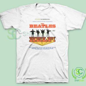 The Beatles Help Album Cover T Shirt