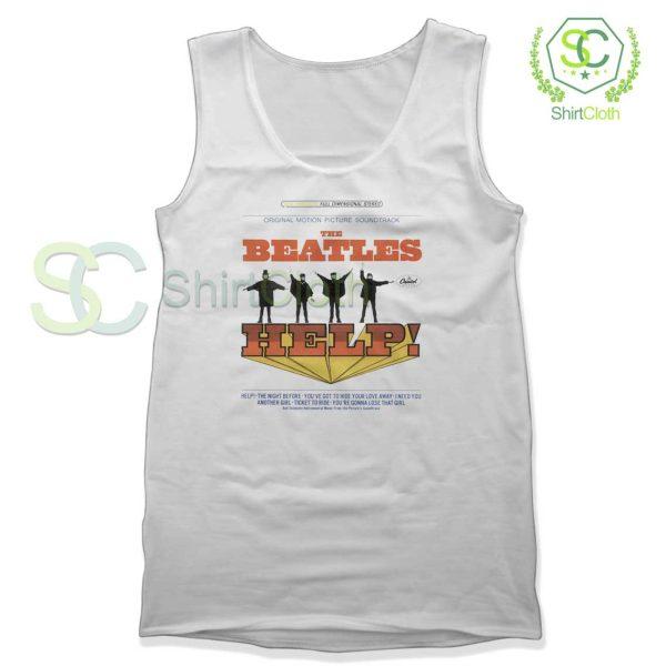 The Beatles Help Album Cover Tank Top