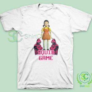 Squid Game Netflix Series White T Shirt